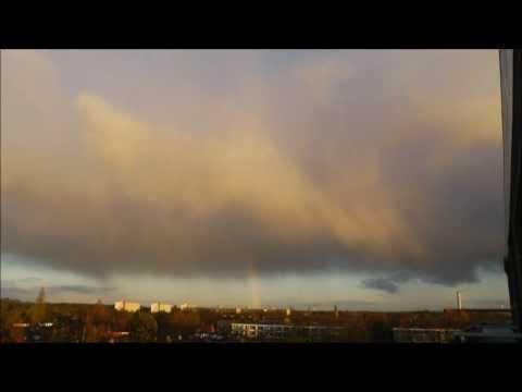 Prachtige regenboog op donderdagmorgen 29 november 2012