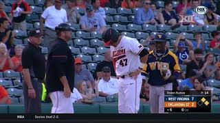 2018 Baseball Championship, West Virginia vs Oklahoma State Baseball Highlights - Game 3