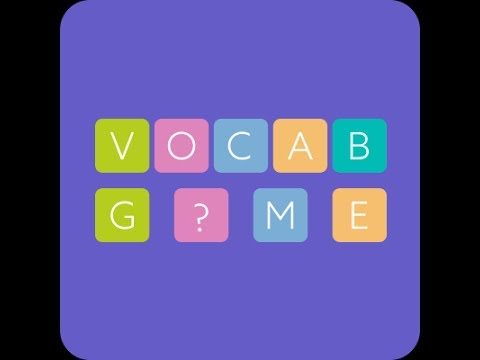 English Vocabulary Game