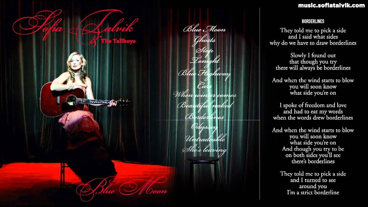 Download Sofia Talvik - 09. Borderlines - Blue Moon (YouTube Album)