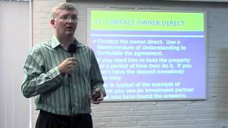 The Property King-Sean Summerville Contacting the Home Owner Part 31