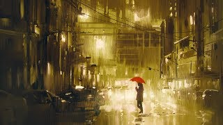 Rainy Piano - Peaceful Piano Music, Relaxing Sleep Music