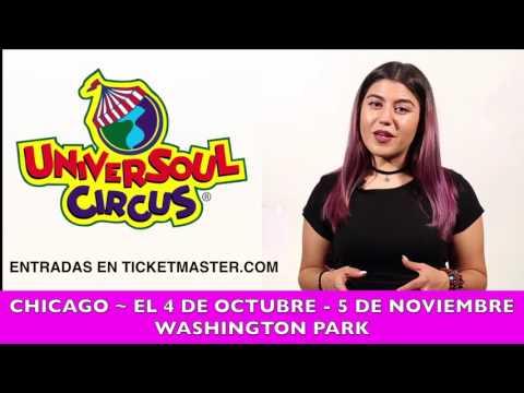 UniverSoul Circus Chicago El 4 de Octubre - 5 de Novienbre en Washington Park
