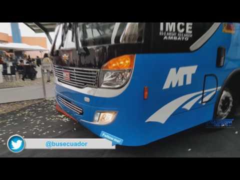 Chasis Isuzu MT para autobus