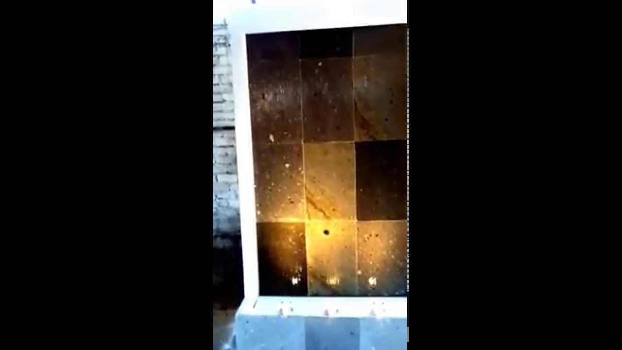 Muro lloron cantera blanca youtube - Muro de agua ...