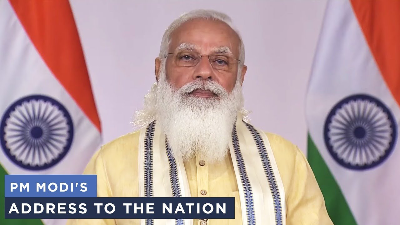 Download PM Modi's address to the nation