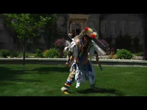 Aboriginal - Grass Dance - Canada National Aboriginal Day Celebrations 2010 thumbnail
