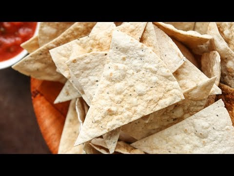 Homemade Low Carb Tortilla Chips Recipe In 2 Minutes