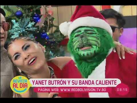 VIDEO: ''Yanet Butrón y su Banda Caliente'' se presentan en ''Al Día''