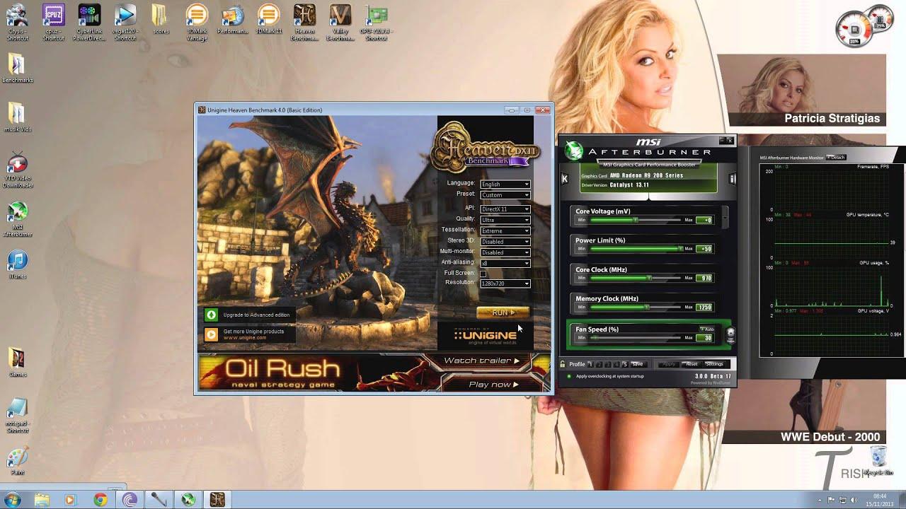 AMD R9 290 overclocking guide with Voltage tweak