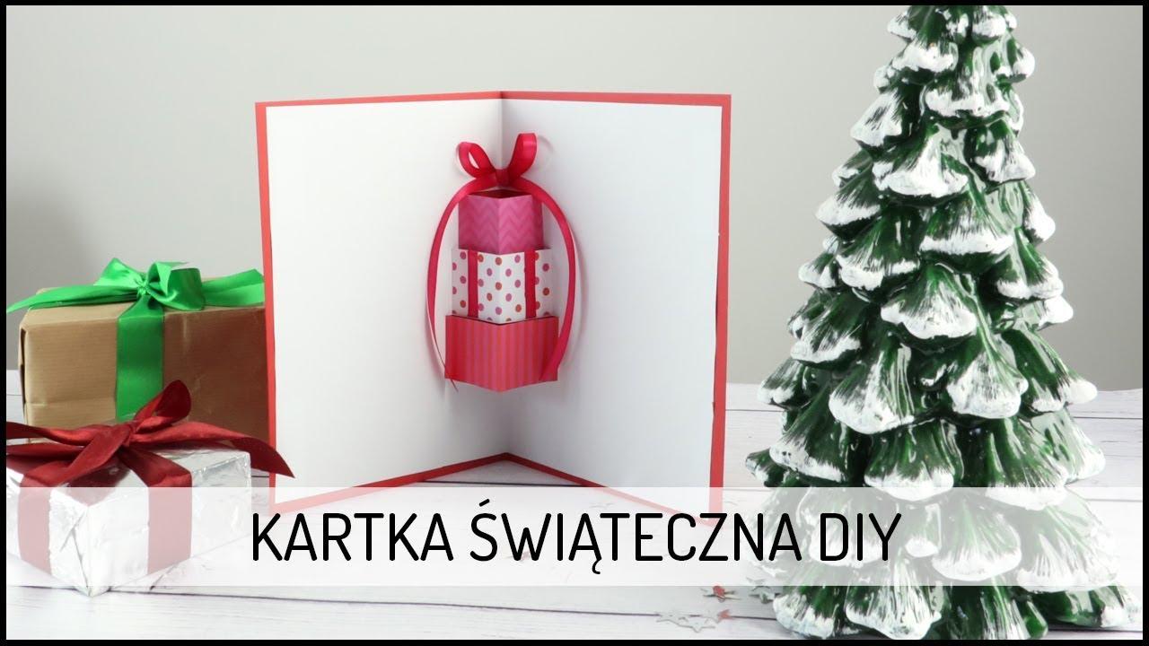 Kartka Świąteczna DIY | DOMODI TV