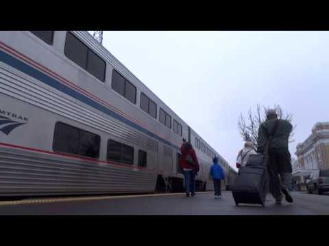 Amtrak's Coast Starlight: Salem, Oregon Station