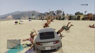 【GTA5】人を轢き殺す