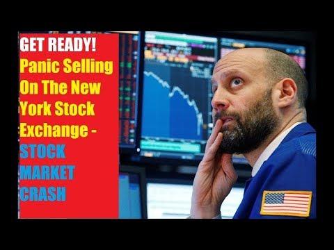 STOCK MARKET CRASH!!! GET READY: Panic Selling On The New York Stock Exchange