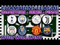 uefa champions league 2018 19 predictions quarter finals to final marble race algodoo