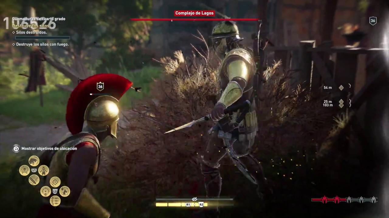 Assassin\'s Creed - Odyssey 28. Quemaduras de cuarto grado - YouTube