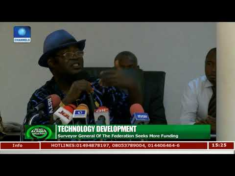 Surveyor General Of The Federation Seeks More Funding For Technology Development