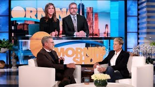 Can Ellen Convince Steve Carell to Join Instagram?