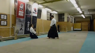hanmi handachi ryotedori shihonage ura [TUTORIAL] Aikido empty hand basic technique