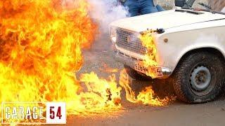 видео: БЕНЗИН в ФАРУ, ЧТО БУДЕТ / ТЮНИНГ ФАР BMW X5 V12