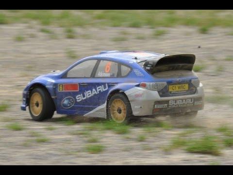 NEW 1:9 Kyosho DRX Subaru Impreza Nitro Test Run