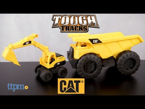 CAT Tough Tracks Machine Team from Toy State