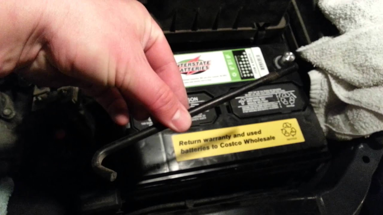 2006 Kia Sedona Battery Replacement Youtube