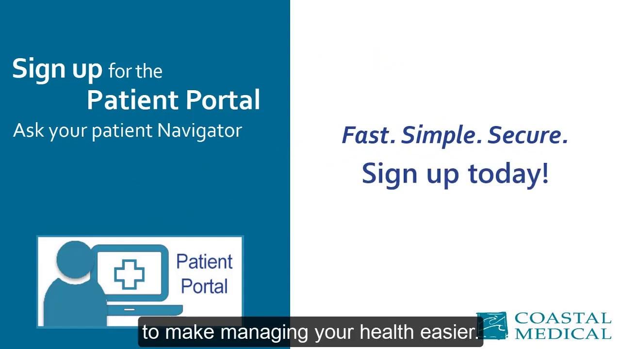 Patient Portal | CoastalMedical com