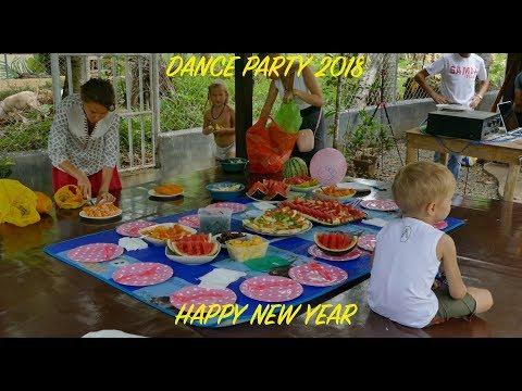 New Year Dance Party On Samal (Новогодние танцульки на Самале) 2018