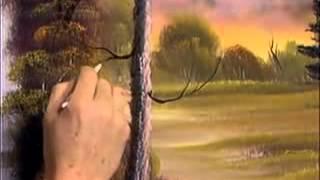 Bob Ross - Malerei baumstamm - Malerei Video