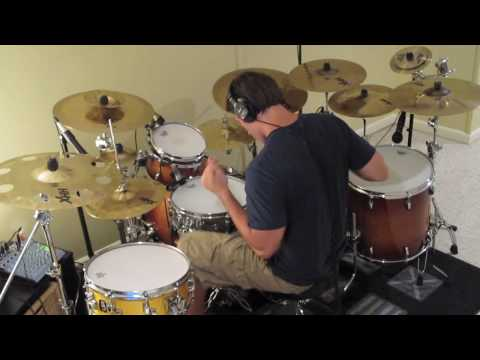Progressive Rock Jazz Fusion Workout on Gretsch Drums