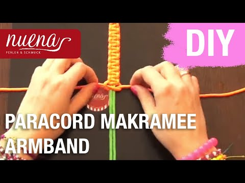 diy neon paracord shamballa makramee armband selbst. Black Bedroom Furniture Sets. Home Design Ideas