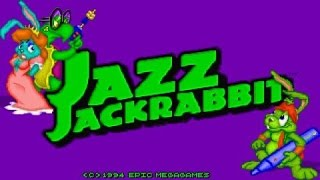 Jazz Jackrabbit gameplay (PC Game, 1994)