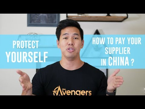 How To Pay Your Supplier in China +  Alibaba Supplier Paymen
