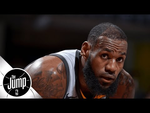 Mike Miller on LeBron James: It's hard to ref him | The Jump | ESPN