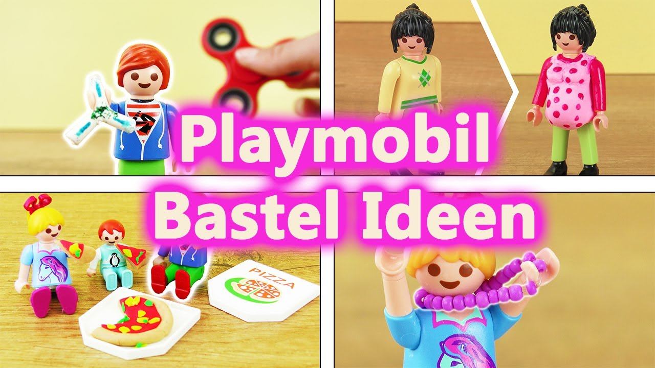 playmobil ideen zum basteln compilation neue kleidung accesoires spielzeug diy kids club