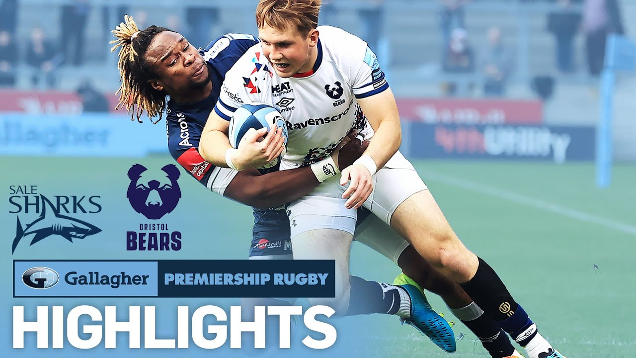 Sale v Bristol - HIGHLIGHTS   Booking tickets for the playoffs!   Gallagher Premiership 2020/21