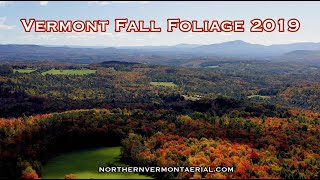2019 Fall Foliage/Scenic Vermont by northernvermontaerial.com