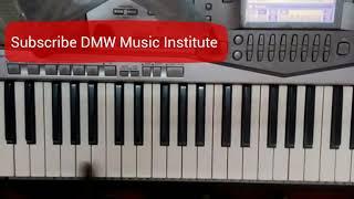 Easy Slow Megathoodham Piano Tutorial How to Play megathoodham song Keyboard Notes Megathoodham -DMW