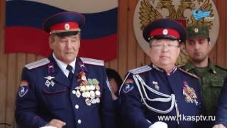 В Каспийске завершился межрегиональный военно патриотический слет кадетов СКФО