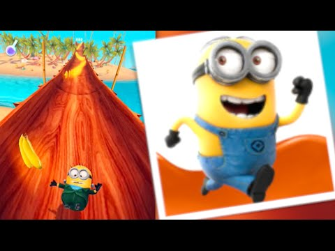 Despicable Me: Minion Rush - Jelly Lab Walkthrough (iPhone Gameplay)