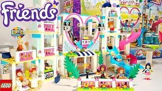 Lego Friends Heartlake City Resort Building Review 41347