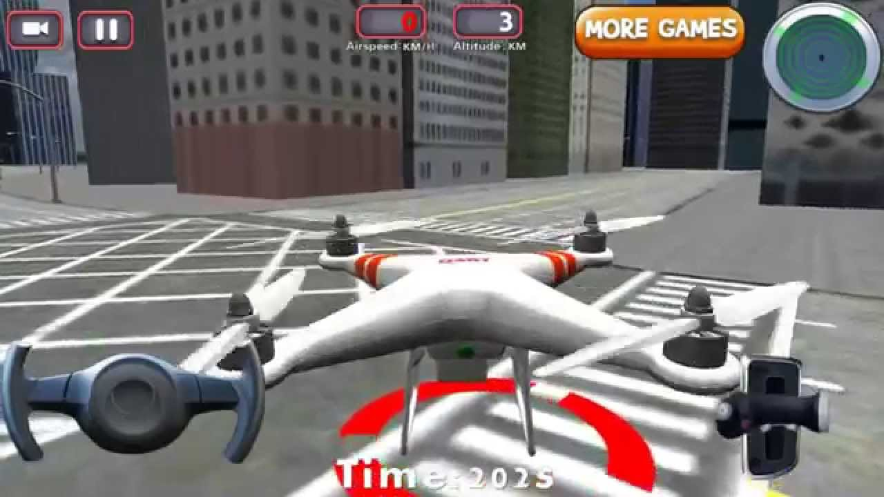 Drone Flight Simulator - Android / iOS Gameplay Review - YouTube