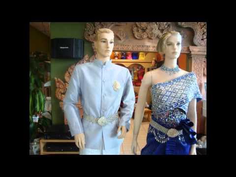 Khmer wedding clothes rental
