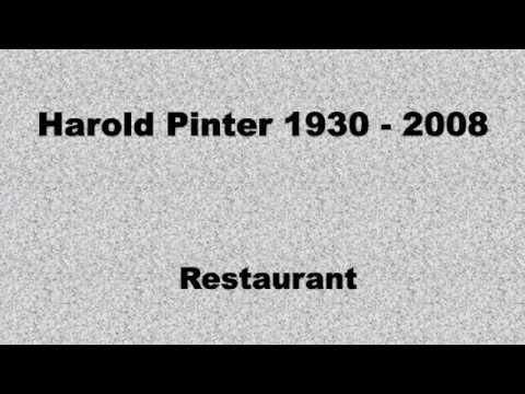 Harold Pinter - Restaurant