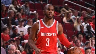 Best Chris Paul Assists in His 1st 5 Games with the Rockets