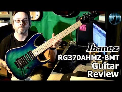 Ibanez RG370AHMZ-BMT Guitar Review