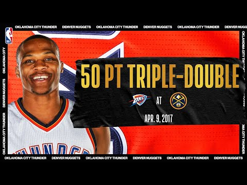 Russell Westbrook Makes Triple-Double History | #NBATogetherLive Classic Game