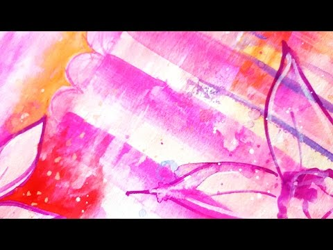art journal #9- Gouache paint on Canson Watercolor Paper