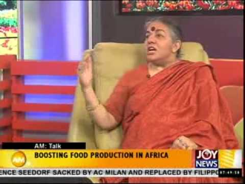 Boosting Food Production in Africa - AM Talk (10-6-14)